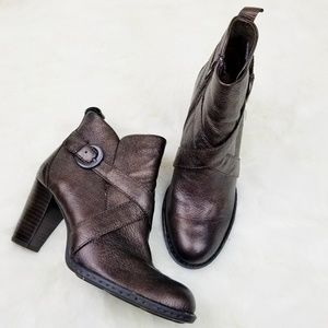 Born|Shola Antique Bronze Booties